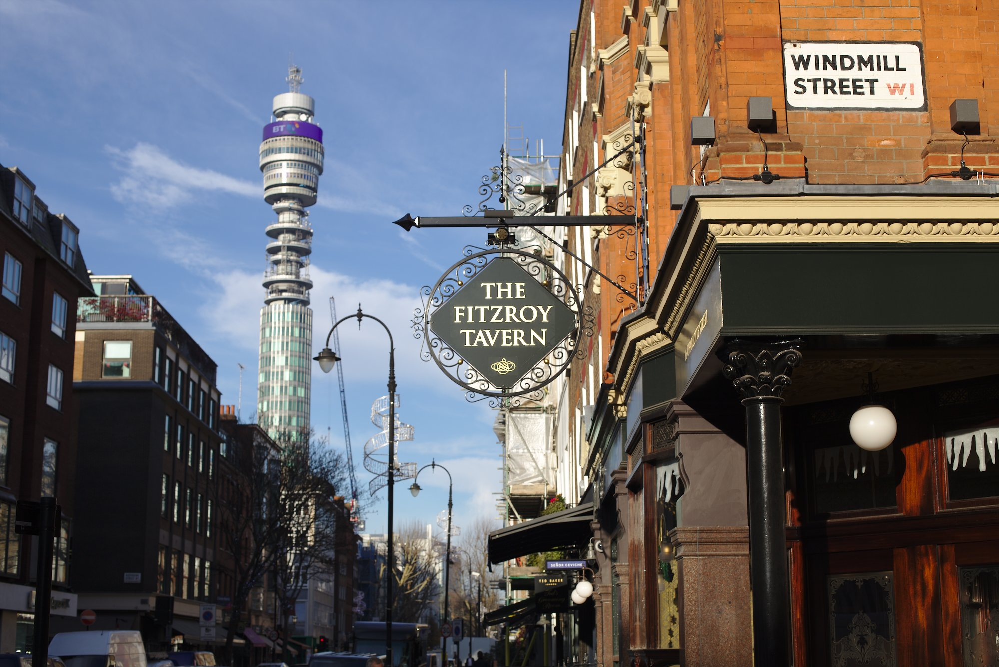 Fitzroy and BT Tower
