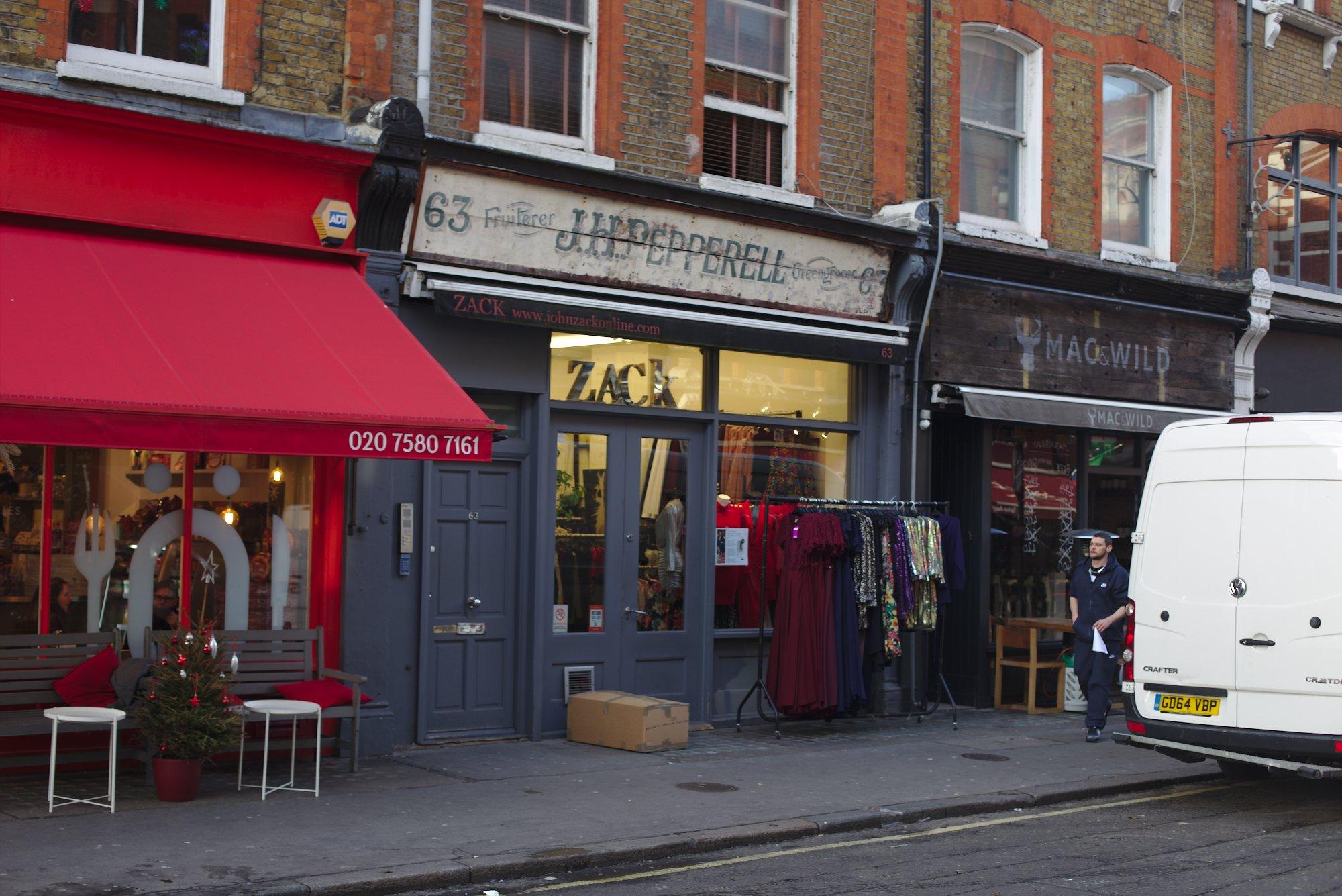 Greatt Titchfield Street clothes shop