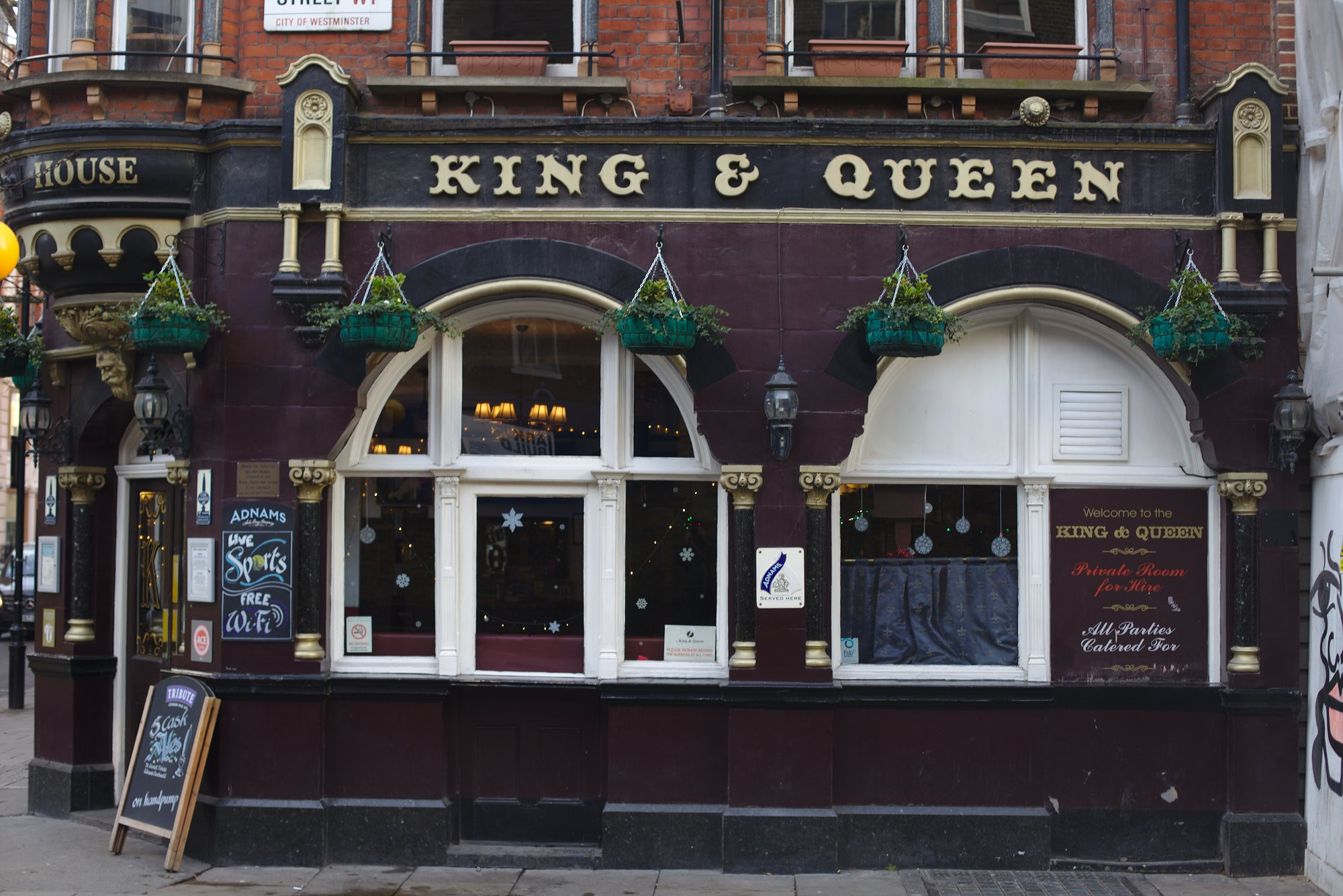 King and Queen pub